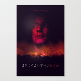 Apocalypse Now Poster Canvas Print