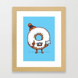 The Chicago Donut Framed Art Print