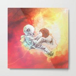 Astrona~uterus Metal Print
