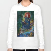 merida Long Sleeve T-shirts featuring Merida 2 by Kiome-Yasha