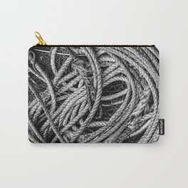 Coiled Rope Carry-All Pouch