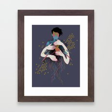 The Rush Framed Art Print
