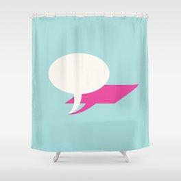 lie Shower Curtain