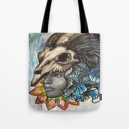 With a C. Tote Bag