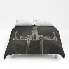 X-Wing Fighter Comforters