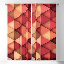 TRIANGULAR VII Blackout Curtain