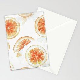 Tasty Oranges Stationery Cards