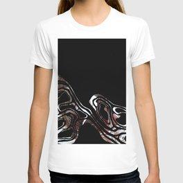 black marble xcv T-shirt