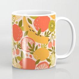 Summer Fruit Lemon Lime Coffee Mug