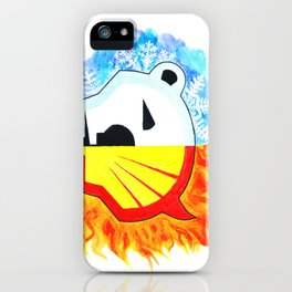 Save the Arctic iPhone Case