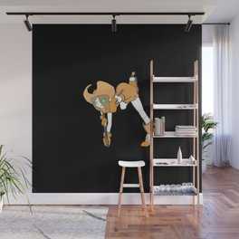 Cowgirl Wall Mural