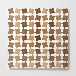 Alhambra Motif 2 Metal Print