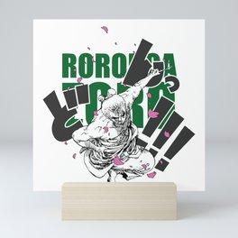 Seppuku Roronoa Zoro Mini Art Print