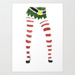 Sexy Elf Print Art Print