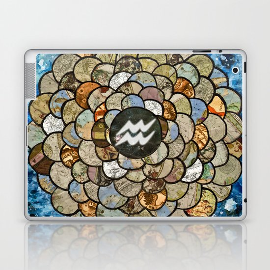 Aquarius - Zodiac Series Laptop & iPad Skin