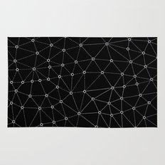 African Triangle Black Rug