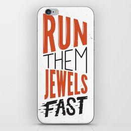 Run Them Jewels iPhone Skin