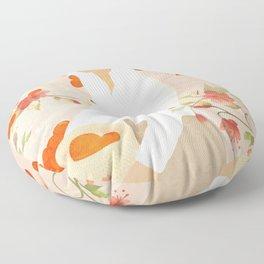 Summer Harvest Floor Pillow