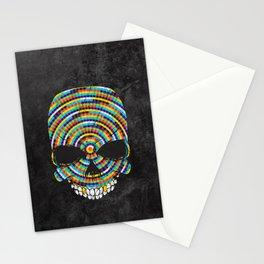 Hypnotic Skull Stationery Cards
