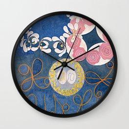 The Ten Largest No. 01 Childhood Group IV Hilma Af Klint Wall Clock