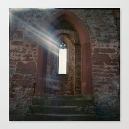 Limburg with Light Leak Canvas Print