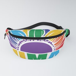 Pride Sunflower Human Be Human LGBT Fanny Pack