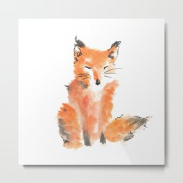 Slightly foxed Metal Print