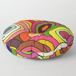 African Style No12, Celebration Floor Pillow