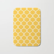 BEAUTY OF NATURE (bee , bees , yellow) Bath Mat