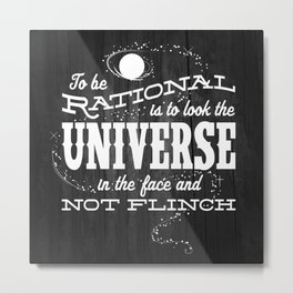 Rationality Metal Print