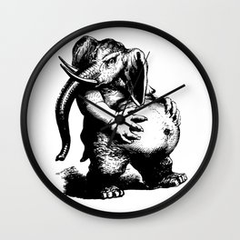 Large And In Charge Wall Clock