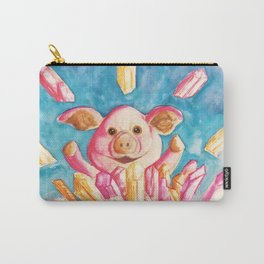Porky Crystal Power Carry-All Pouch