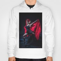 spanish Hoodies featuring Spanish Dancer by Sacred Visions