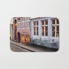 Copenhagen Sidewalk Cafe Bath Mat