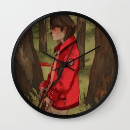 The Hunter's Code Wall Clock