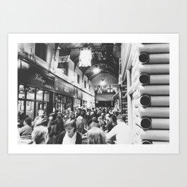 Inside Brixton Village Art Print