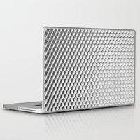 hexagon Laptop & iPad Skins featuring Hexagon I by Evi Radauscher