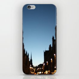 The Blur of Edinburgh. iPhone Skin
