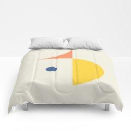 Spot Held Comforters