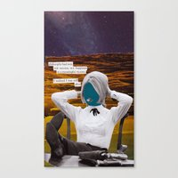 philosophy Canvas Prints featuring Philosophy Won by ShapeOfShape