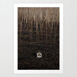 somewhere hidden away Art Print