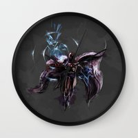 magneto Wall Clocks featuring Magneto  by Bigcookben