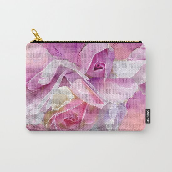 Romantic rose(12) Carry-All Pouch