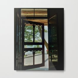 "jjhelene ""Door to Serenity"" on Canadian Lake Erie Metal Print"