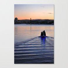Boat man Canvas Print
