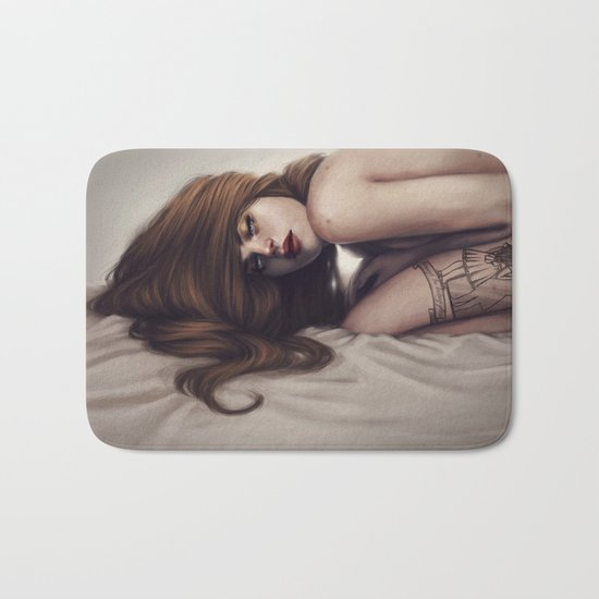 Death unfold me Bath Mat