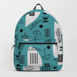 Little turtles and mushrooms Backpack