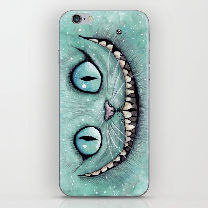 Cheshire Cat - Drawing - Dibujados iPhone Skin