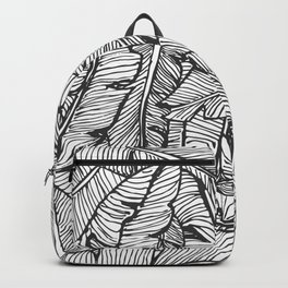 Black & White Jungle #society6 #decor #buyart Backpack