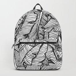 Black & White Jungle Backpack